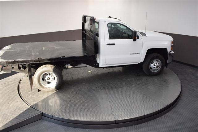 2019 Silverado 3500 Regular Cab DRW 4x4,  Knapheide Platform Body #190067 - photo 21