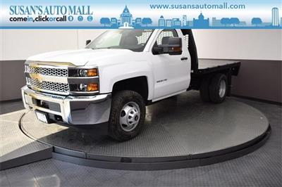 2019 Silverado 3500 Regular Cab DRW 4x4,  Knapheide PGNB Gooseneck Platform Body #190067 - photo 1