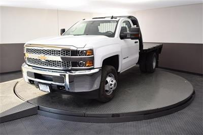2019 Silverado 3500 Regular Cab DRW 4x4,  Knapheide PGNB Gooseneck Platform Body #190067 - photo 3