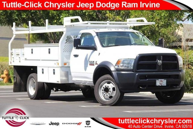 2017 Ram 5500 Regular Cab DRW 4x2,  Knapheide Contractor Bodies Contractor Body #J284677 - photo 1