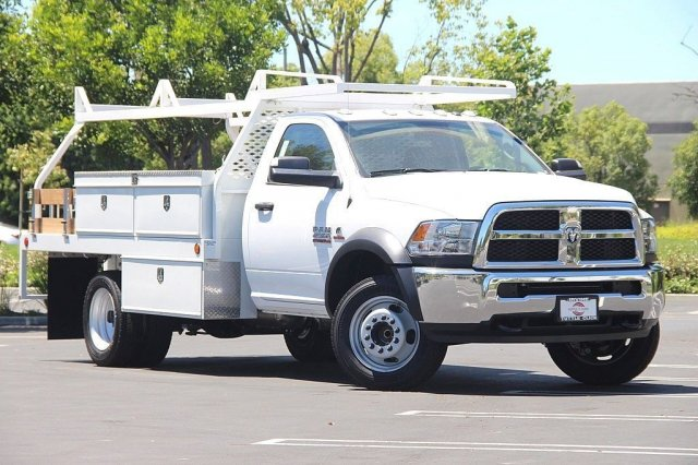 2018 Ram 4500 Regular Cab DRW 4x2,  Scelzi Contractor Body #J287759 - photo 3