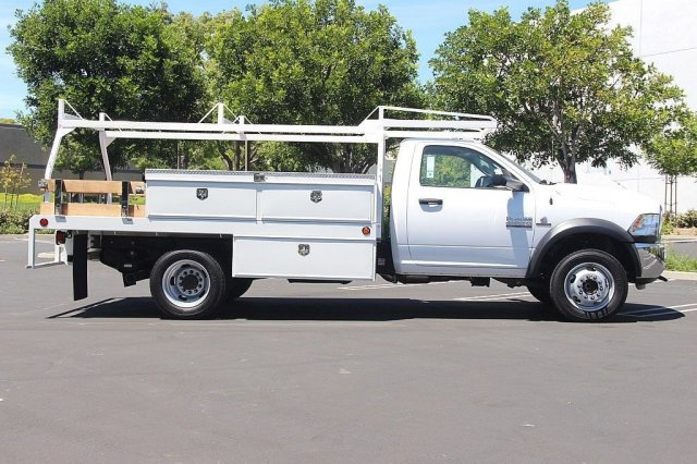 2018 Ram 4500 Regular Cab DRW 4x2,  Scelzi Contractor Body #J287759 - photo 6