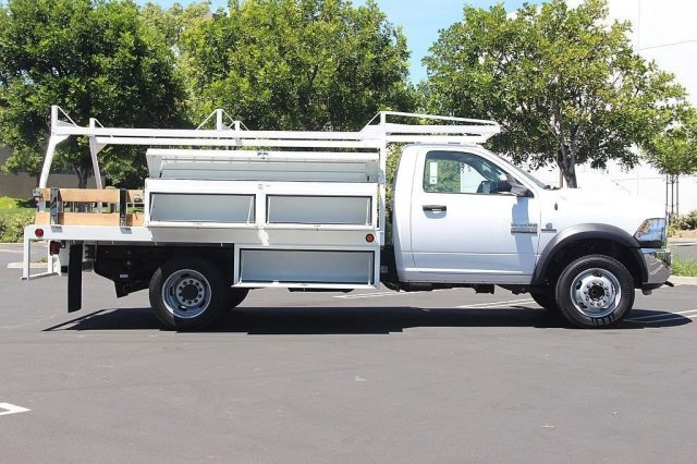 2018 Ram 4500 Regular Cab DRW 4x2,  Scelzi Contractor Body #J287759 - photo 7