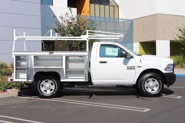 2018 Ram 2500 Regular Cab 4x2,  Scelzi Service Body #JC291035 - photo 7