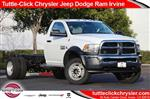 2018 Ram 5500 Regular Cab DRW 4x2,  Cab Chassis #JC291537 - photo 1