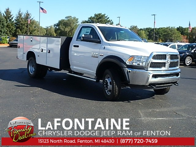 2017 Ram 4500 Regular Cab DRW 4x4 Service Body #17U1519 - photo 5
