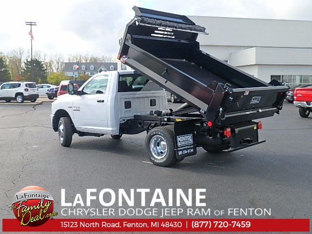 2017 Ram 3500 Regular Cab DRW 4x4, Dump Body #17U1623 - photo 4