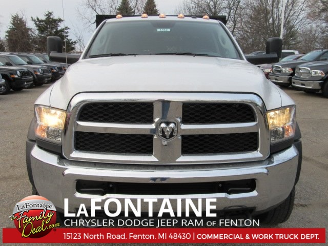2017 Ram 5500 Crew Cab DRW 4x4, Knapheide Stake Bed #17U1729 - photo 4