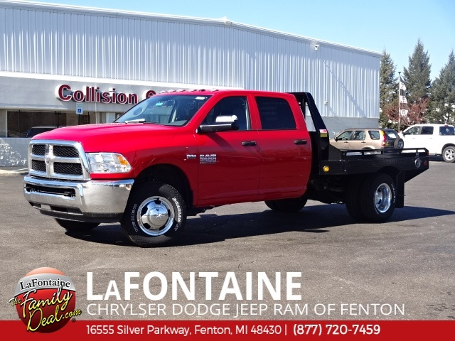 2017 Ram 3500 Crew Cab DRW 4x4,  Hillsboro Platform Body #17U1733 - photo 3