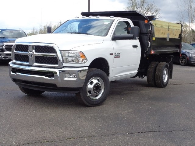 2018 Ram 3500 Regular Cab DRW 4x4,  Monroe Dump Body #18U1154 - photo 14
