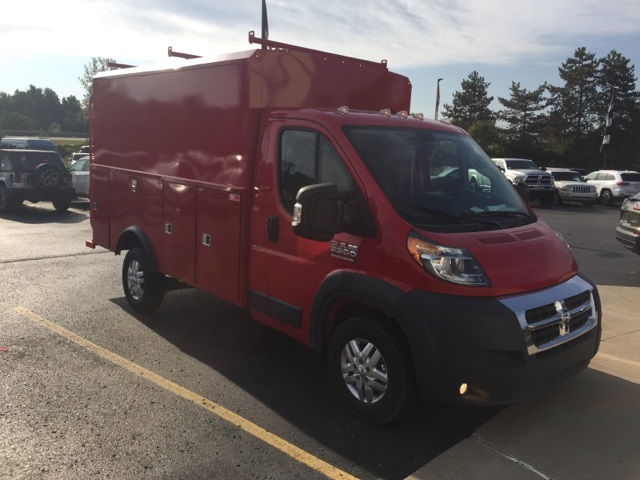 2018 ProMaster 3500 Standard Roof FWD,  Reading Service Utility Van #18U1465 - photo 4