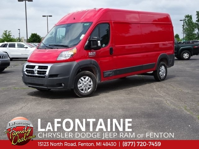 2018 ProMaster 2500 High Roof FWD,  Empty Cargo Van #18U1683 - photo 1