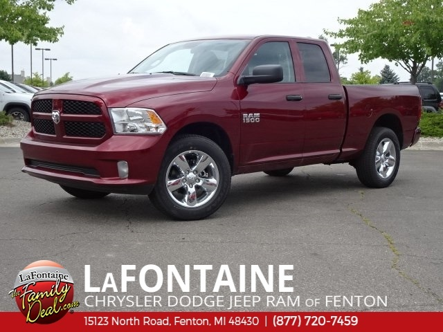 2018 Ram 1500 Quad Cab 4x4,  Pickup #18U1833 - photo 1