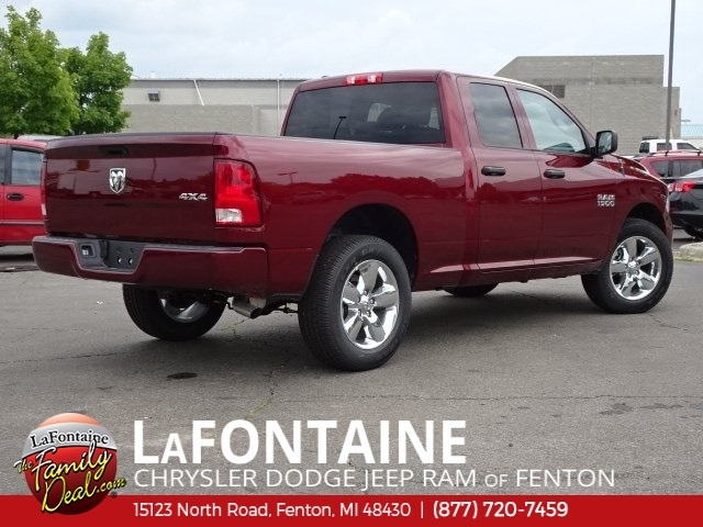2018 Ram 1500 Quad Cab 4x4,  Pickup #18U1833 - photo 4