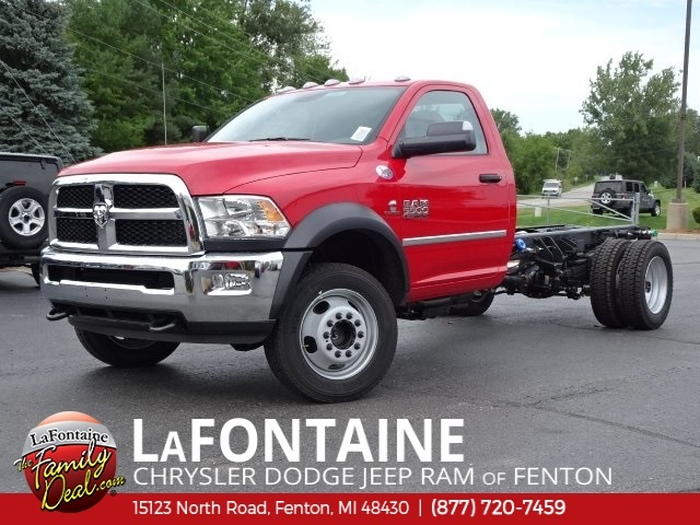 2018 Ram 5500 Regular Cab DRW 4x4,  Cab Chassis #18U2006 - photo 11