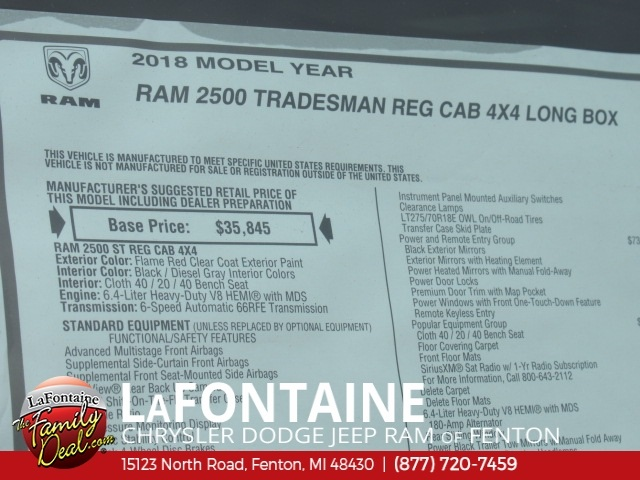 2018 Ram 2500 Regular Cab 4x4,  Western Pickup #18U2300 - photo 8
