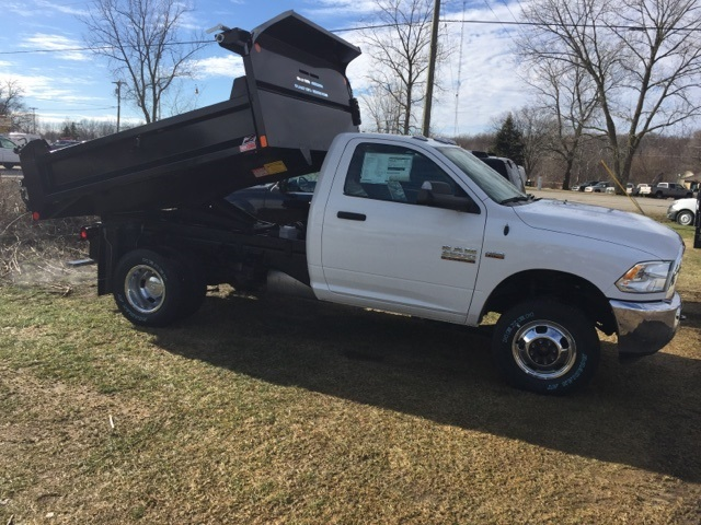 2018 Ram 3500 Regular Cab DRW 4x4,  Monroe Dump Body #18U787 - photo 7