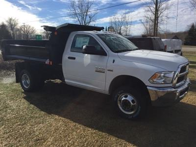 2018 Ram 3500 Regular Cab DRW 4x4,  Monroe MTE-Zee Dump Body #18U787 - photo 3