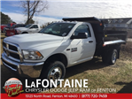 2018 Ram 3500 Regular Cab DRW 4x4, Dump Body #18U787 - photo 1