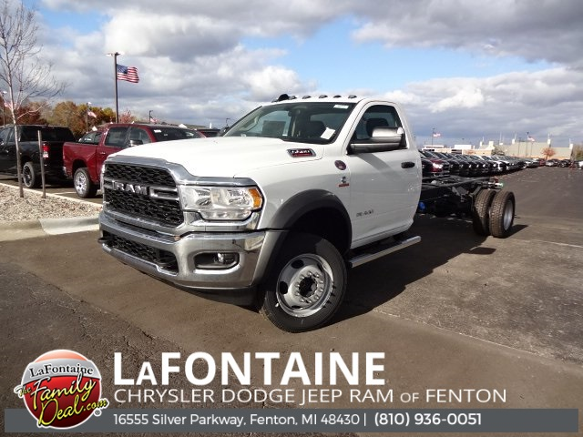 2019 Ram 5500 Regular Cab DRW 4x4, Cab Chassis #19U1619 - photo 1