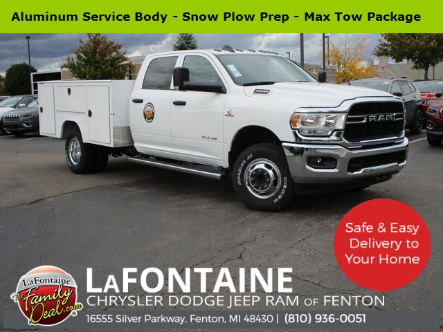 2019 Ram 3500 Crew Cab DRW 4x4, Galion 133U Dump Body #19U1672 - photo 46
