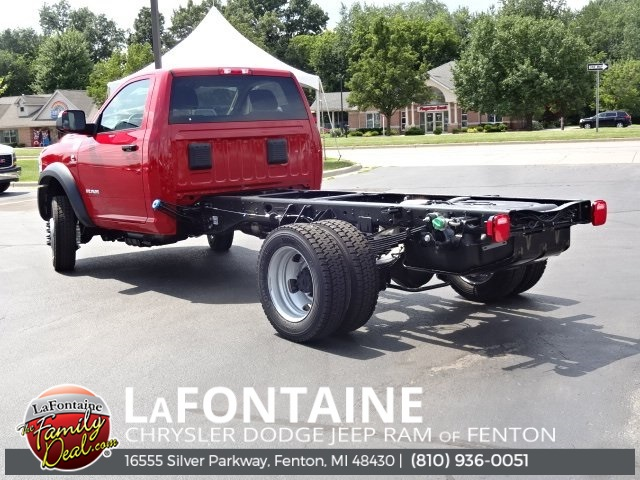 2019 Ram 5500 Regular Cab DRW 4x4, Cab Chassis #19U2377 - photo 1