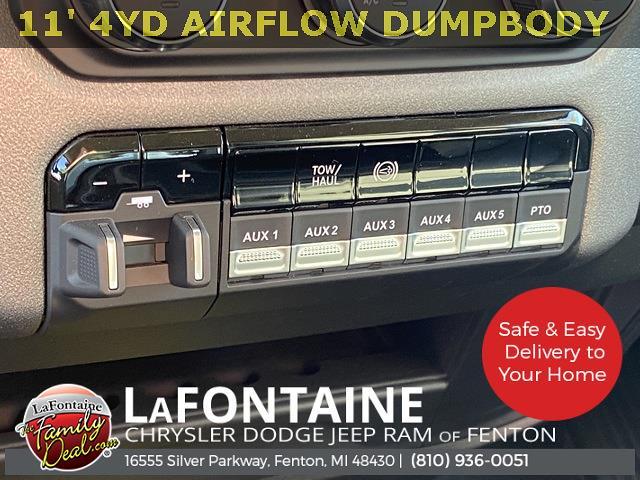 2020 Ram 5500 Regular Cab DRW 4x4,  Air-Flo Pro-Com Dump Body #20UC3358 - photo 18