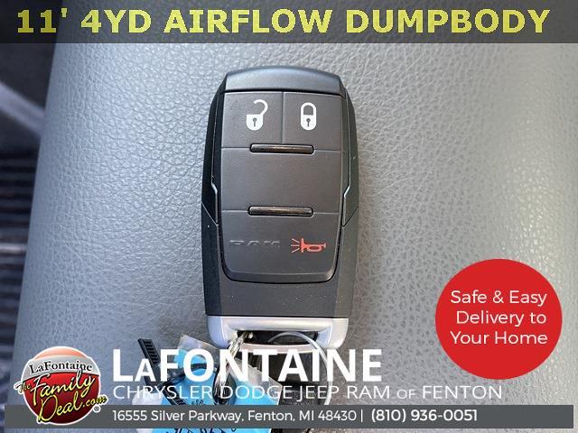 2020 Ram 5500 Regular Cab DRW 4x4,  Air-Flo Pro-Com Dump Body #20UC3358 - photo 36