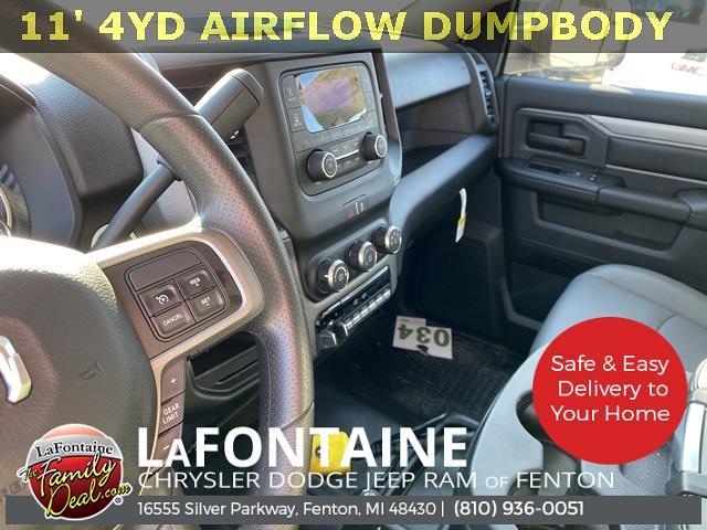 2020 Ram 5500 Regular Cab DRW 4x4,  Air-Flo Pro-Com Dump Body #20UC3358 - photo 14