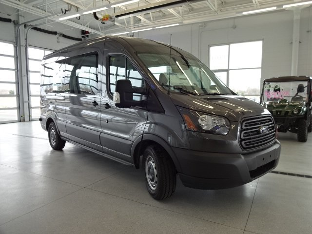2017 Transit 350 Medium Roof Passenger Wagon #17D521 - photo 3