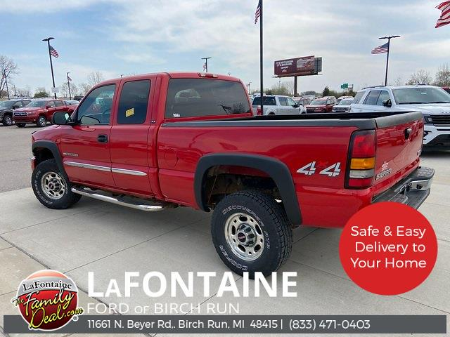 2007 GMC Sierra 2500 Extended Cab 4x4, Pickup #1D078A - photo 1