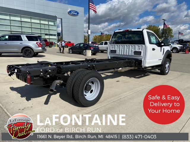 2020 Ford F-550 Regular Cab DRW 4x4, Cab Chassis #20DC011 - photo 1