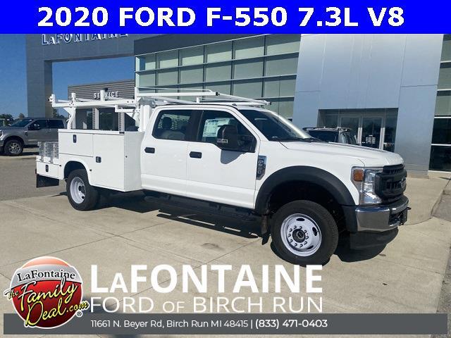 2020 Ford F-550 Crew Cab DRW 4x4, Knapheide Combo Body #20DC017 - photo 1