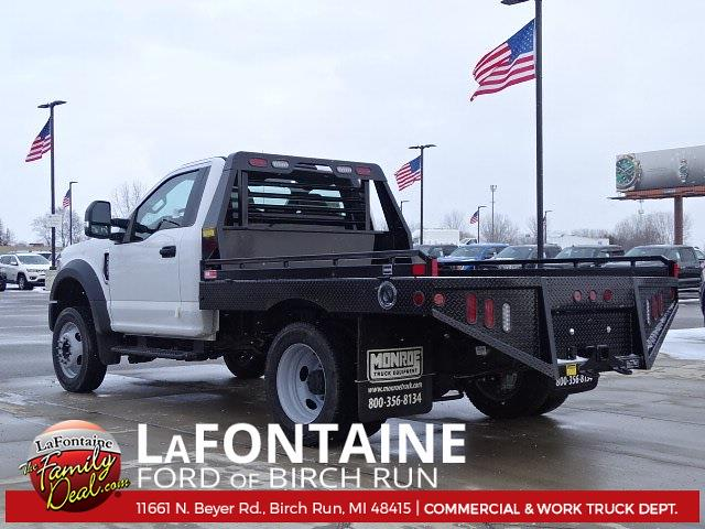 2020 Ford F-550 Regular Cab DRW 4x4, Hillsboro Platform Body #20DC047 - photo 1