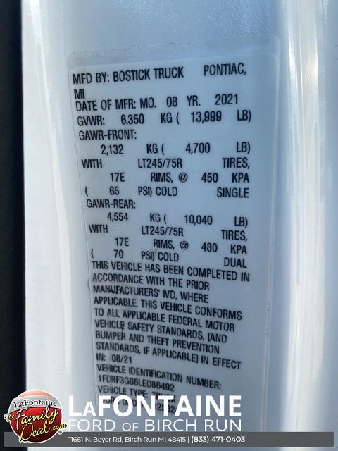 2020 F-350 Regular Cab DRW 4x2,  TruckCraft Platform Body #20DC071 - photo 11