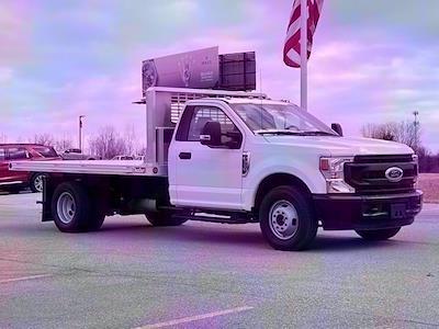 2020 F-350 Regular Cab DRW 4x2,  TruckCraft Platform Body #20DC071 - photo 1
