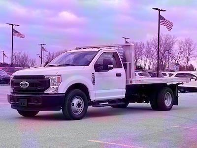 2020 F-350 Regular Cab DRW 4x2,  TruckCraft Platform Body #20DC071 - photo 7