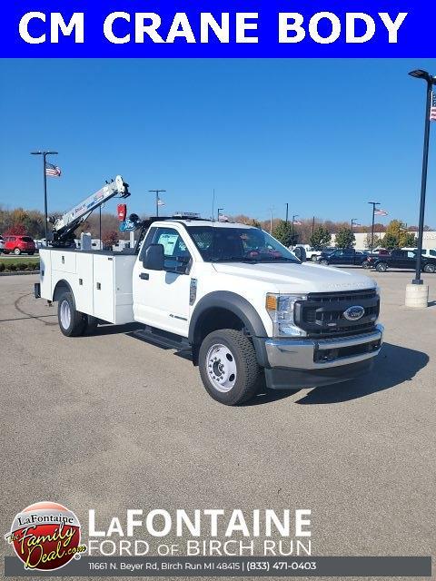 2021 F-450 Regular Cab DRW 4x4,  CM Truck Beds SB Model Mechanics Body #21DC080 - photo 1