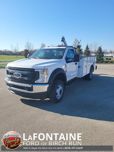 2021 F-450 Regular Cab DRW 4x4,  CM Truck Beds SB Model Mechanics Body #21DC080 - photo 3
