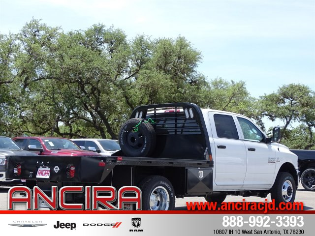 2018 Ram 3500 Crew Cab DRW 4x4,  Platform Body #B208800 - photo 6