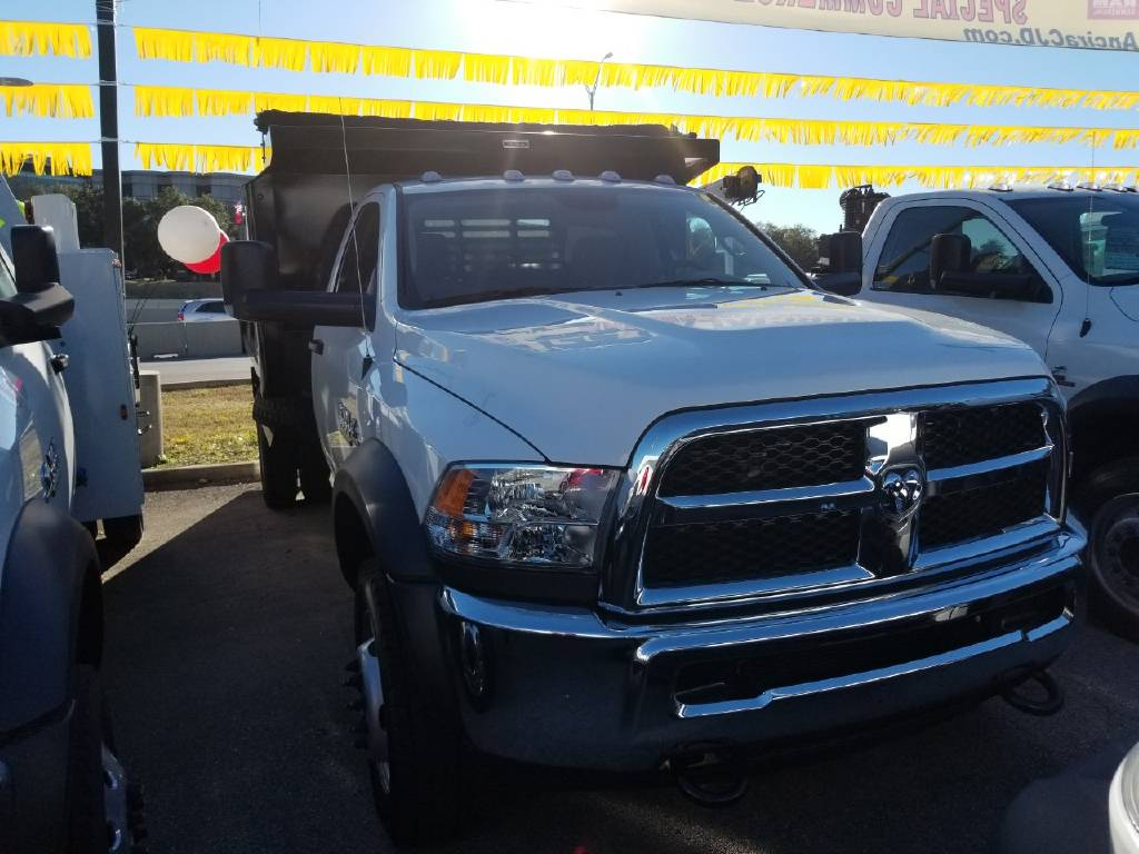 2018 Ram 5500 Regular Cab DRW 4x4,  Reading Dump Body #B304208 - photo 3