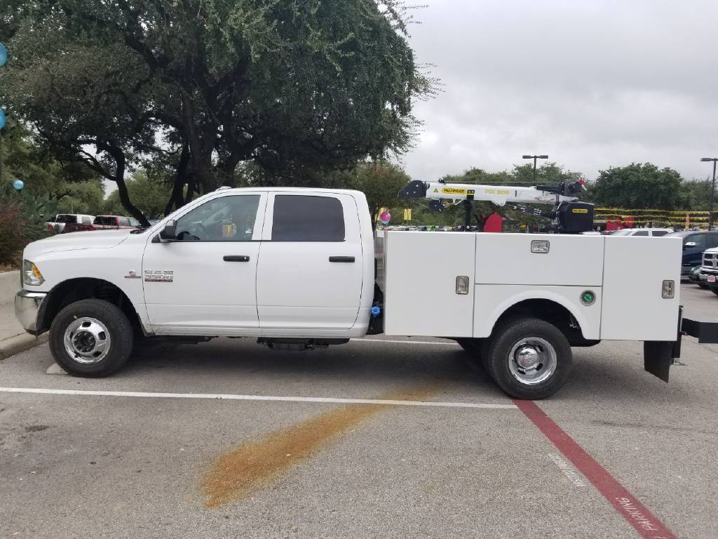 2018 Ram 3500 Crew Cab DRW 4x4,  Stahl Crane Body #B355715 - photo 2