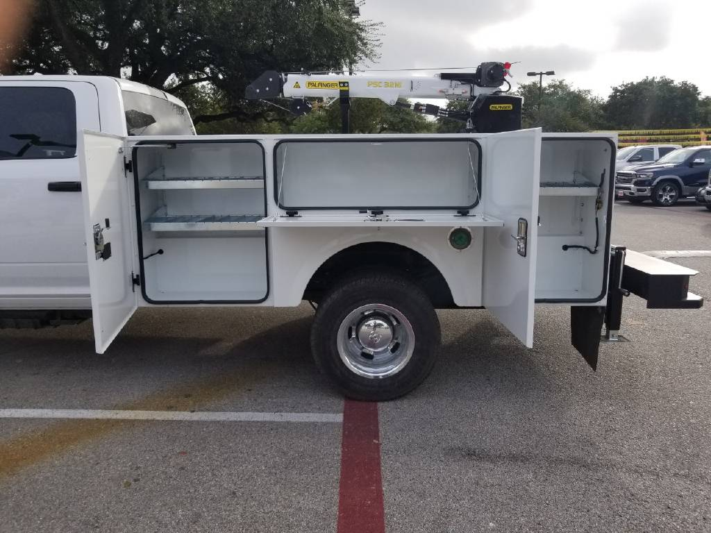 2018 Ram 3500 Crew Cab DRW 4x4,  Stahl Crane Body #B355715 - photo 3