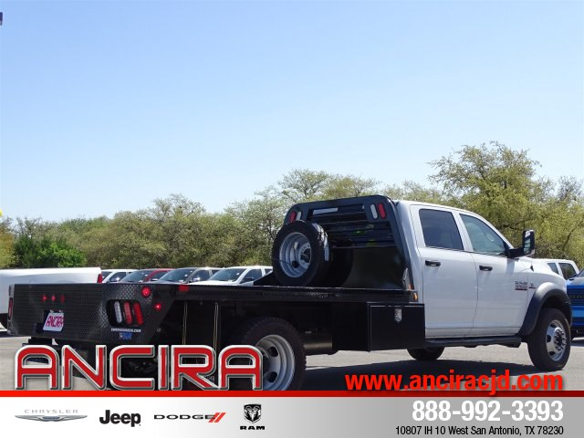 2017 Ram 5500 Crew Cab DRW 4x4,  CM Truck Beds Platform Body #B504150 - photo 6