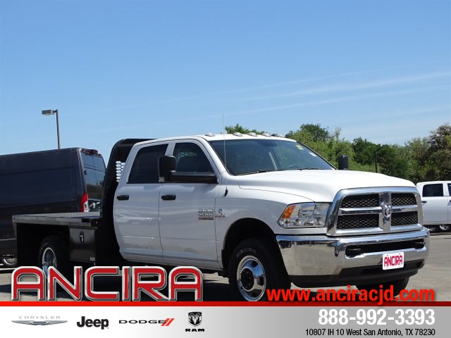 2017 Ram 3500 Crew Cab DRW 4x4,  Knapheide Platform Body #B633847 - photo 4
