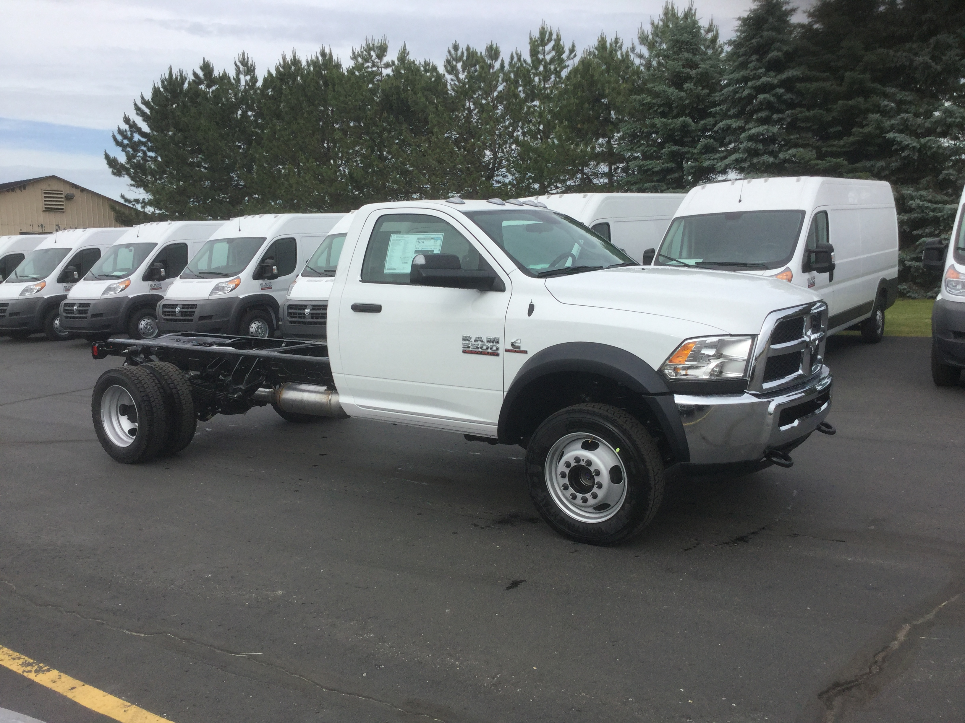 2016 Ram 5500 Regular Cab DRW 4x4, Cab Chassis #16713 - photo 5