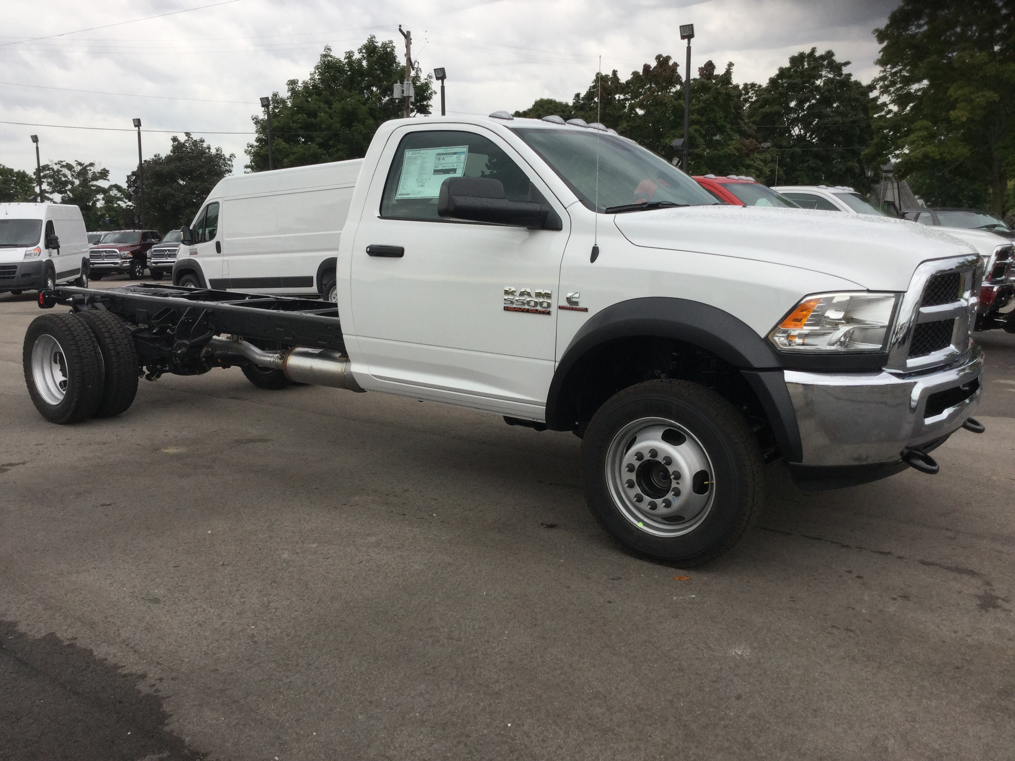 2016 Ram 5500 Regular Cab DRW 4x4, Cab Chassis #16893 - photo 5