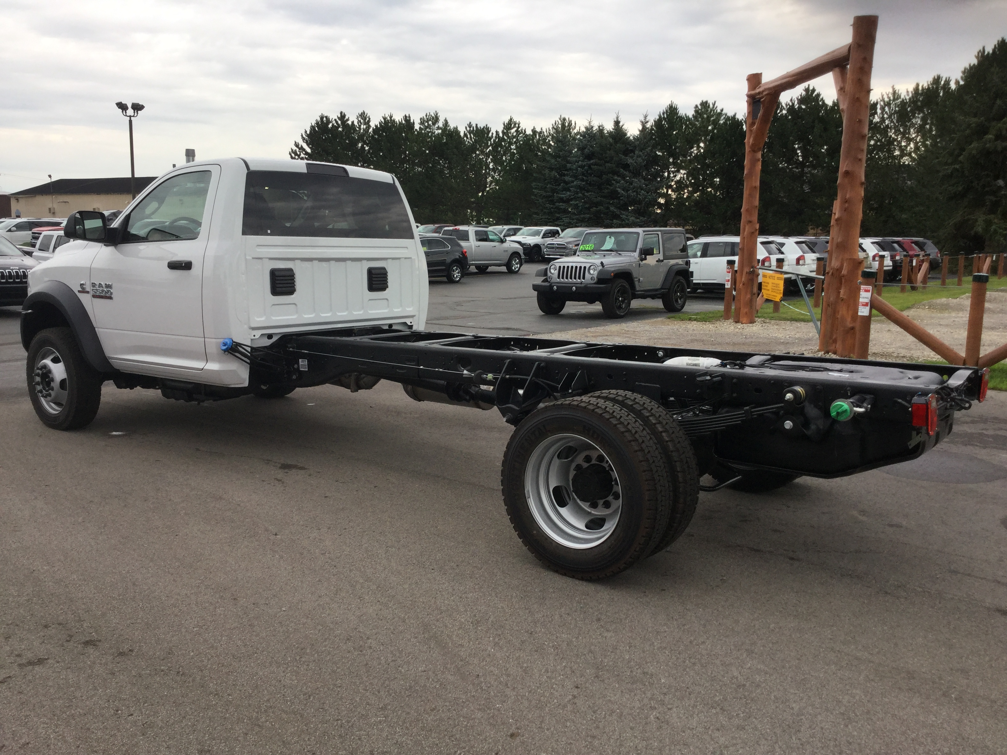 2016 Ram 5500 Regular Cab DRW 4x4, Cab Chassis #16893 - photo 2