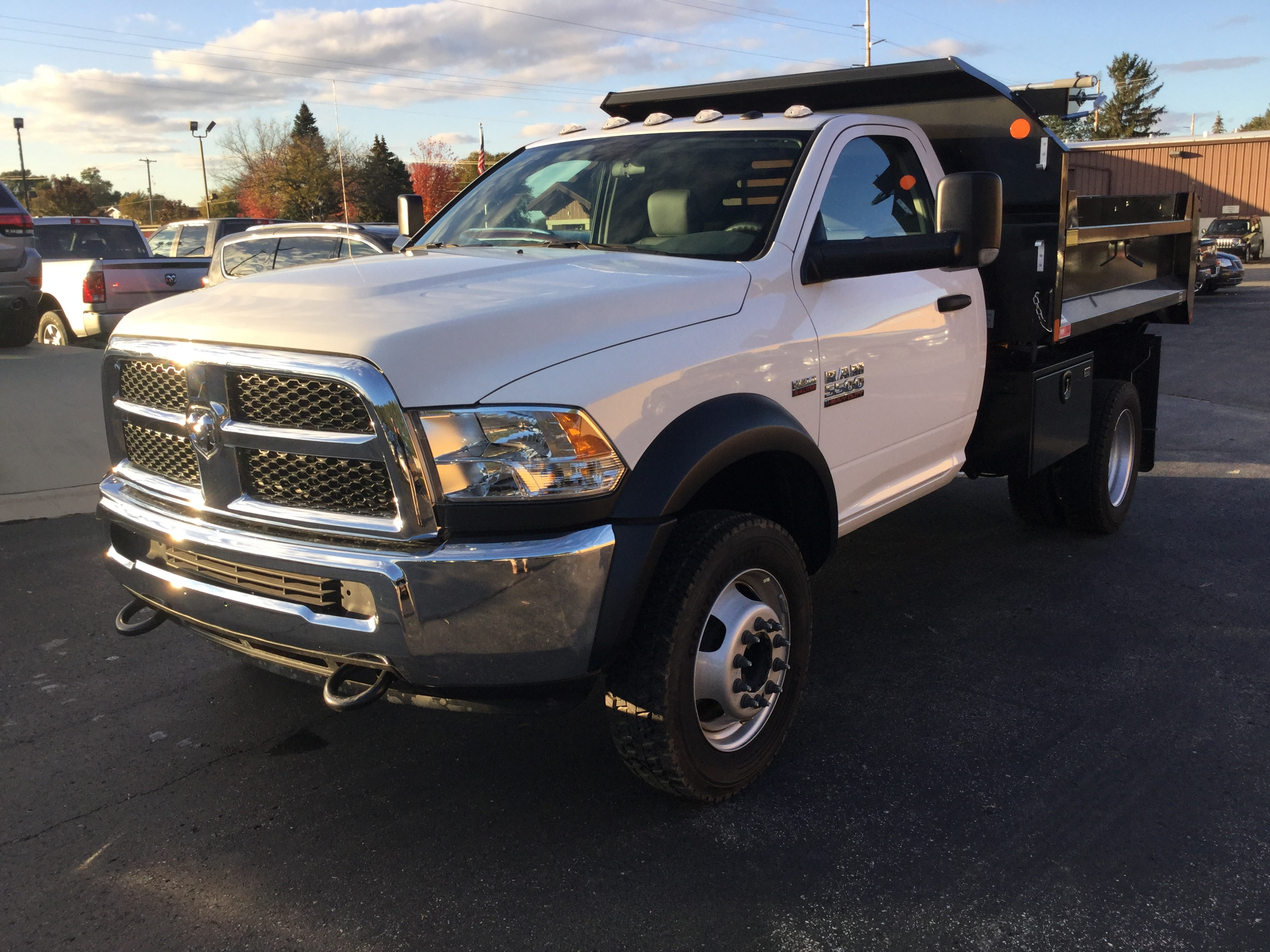 2017 Ram 5500 Regular Cab DRW 4x4, Monroe Dump Body #171535 - photo 3