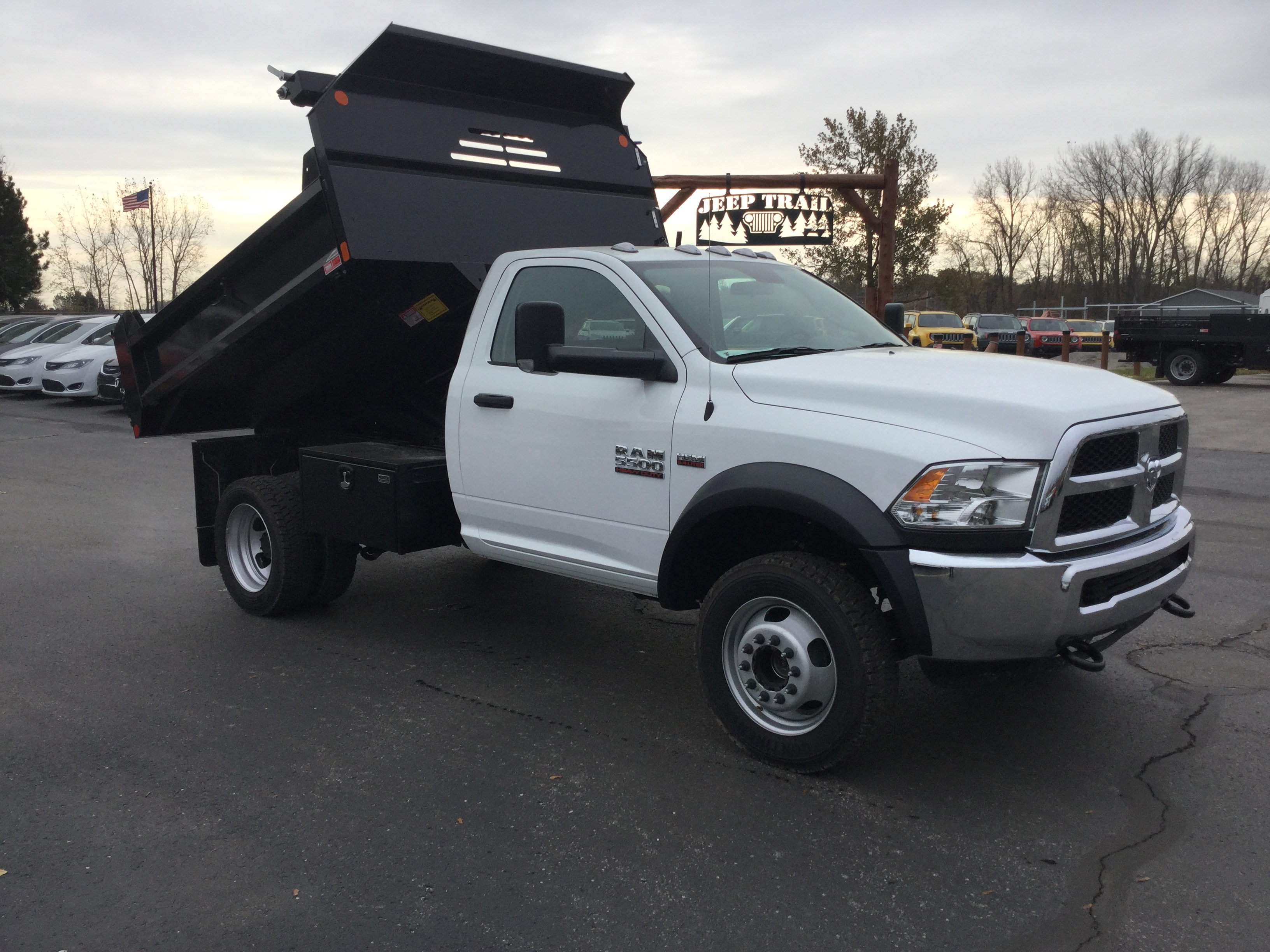 2017 Ram 5500 Regular Cab DRW 4x4, Monroe Dump Body #171535 - photo 10